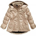 Catimini Gold Padded Coat Age 2