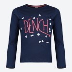 Bench Long-Sleeved Navy Top Age 8
