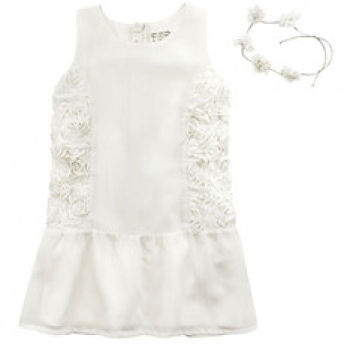 84e6c6f11b8c Billieblush Cream Dress Ages 4-8