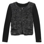 Catimini Black Tweed Jacket Age 10