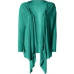DKNY Green Knit Wrap